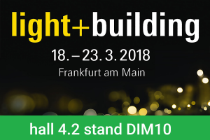 TRON exhibits at light + building 2018